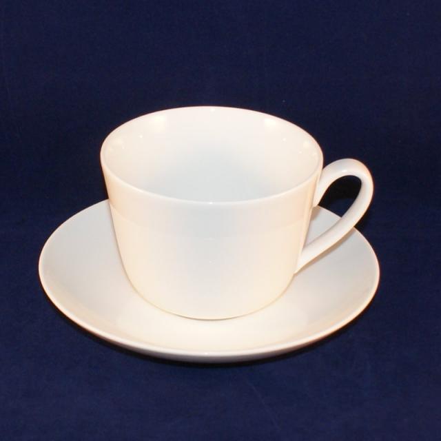 twist white kaffee teetasse mit untertasse neuwertig. Black Bedroom Furniture Sets. Home Design Ideas