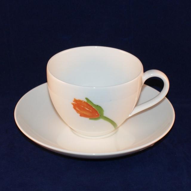 iceland poppies gallo kaffeetasse mit untertasse sehr gut. Black Bedroom Furniture Sets. Home Design Ideas